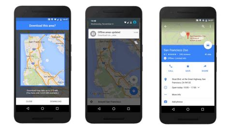 offline navigation android maps for android gets offline navigation and search features