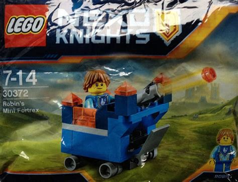 Diskon Lego 30372 Nexo Knights Robin S Mini Fortrex lego nexo knights robin s mini fortrex 30372 polybag