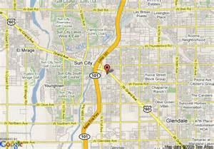 peoria arizona map map of ramada inn peoria peoria