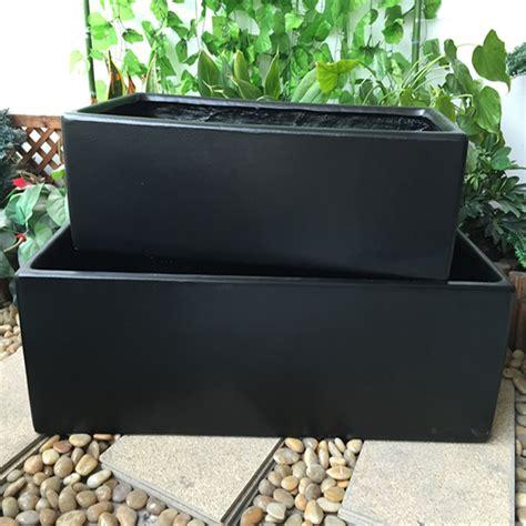 panjang cube persegi berbentuk kubus hitam halus dekorasi