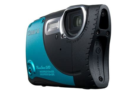 canon rugged canon goes rugged with the powershot d20 point and shoot
