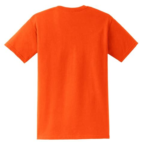 Tshirt Orange gildan 2300 ultra cotton t shirt with pocket s orange