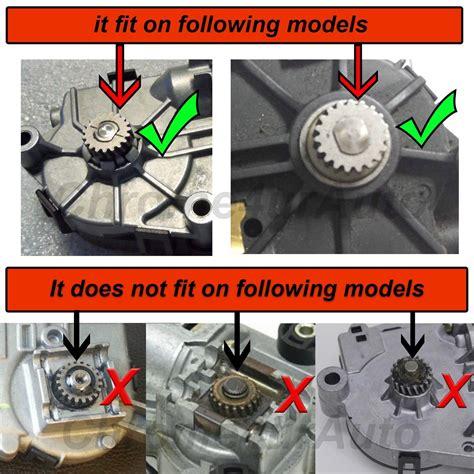 sunroof motor replacement bmw sunroof motor metal gear panoramic sunroof motor gear
