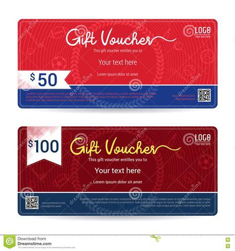 voucher card template baseball border card vector cartoondealer