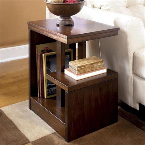 signature design by callum rectangular chairside table