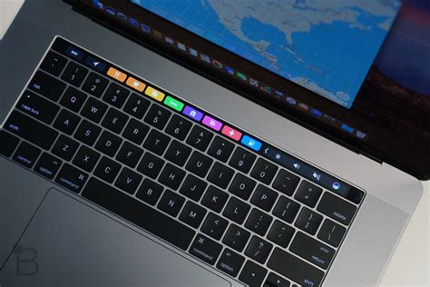 Macbook Pro Touch Bar macbook pro with touch bar review part gimmick part