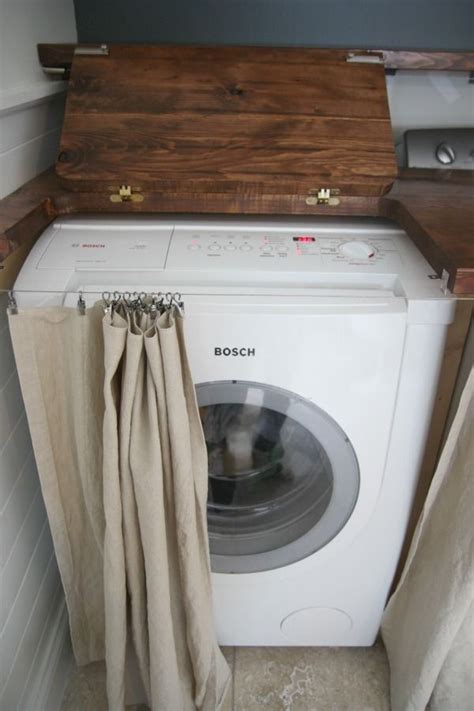 top 25 ideas about washer dryer cover up on pinterest hidden laundry washers and plugs comment int 233 grer le lave linge dans son int 233 rieur 31 id 233 es