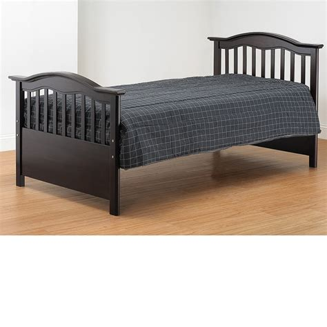 espresso twin bed dreamfurniture com tb480 es twin bed espresso