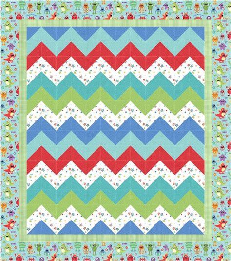 zig zag quilt pattern crafts