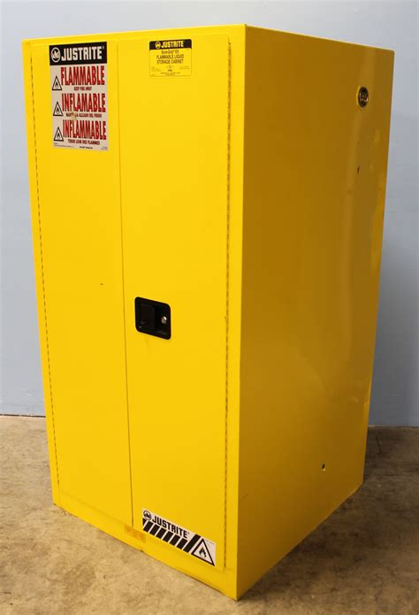 justrite 45 gallon safety cabinet refurbished justrite sure grip ex 896000 flammable safety