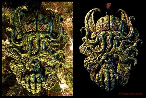 cthulhu christmas ornament boing boing