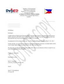 Solicitation Letter For Donations Template Brigad Eskwela Solicitation Letter
