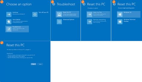 windows not resetting system file how to refresh reset and re install your operating system
