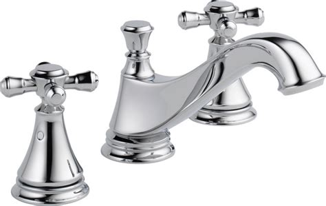 Wide Bathroom Sink Two Faucets by Delta Cassidy Two Handle Wide Spread Lavatory Low Arc