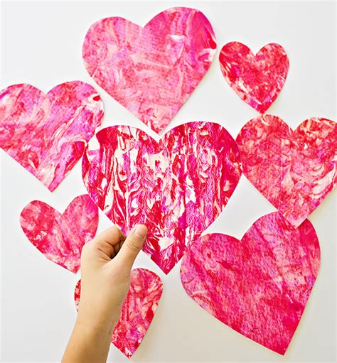 how to shave a heart hello wonderful valentine shaving cream heart art with kids