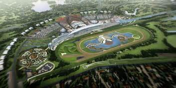 Race Track Dubai Uae Dubai Metro City Streets Hotels Airport Travel Map