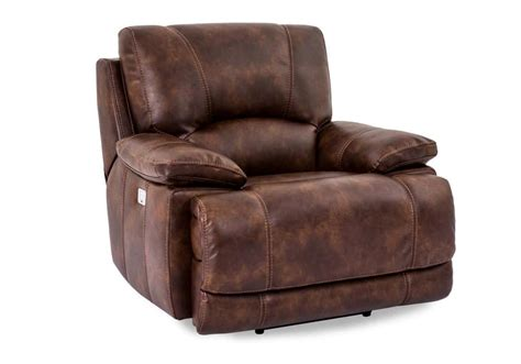 Berkshire Banner Pecan Power Recliner W Power Headrest