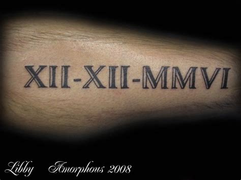 roman numeral tattoo font designs numerals picture at checkoutmyink