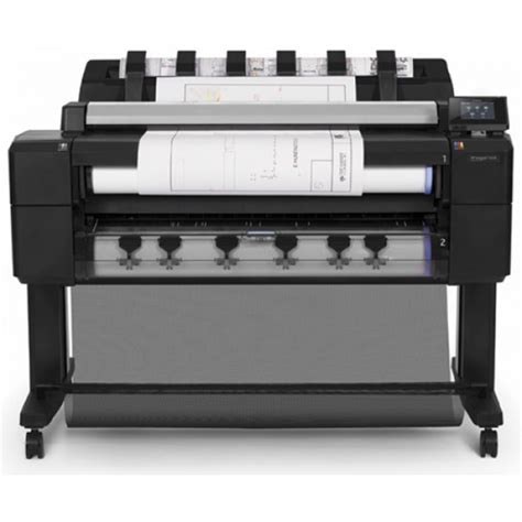 Roll Printer Hp hp designjet t2530ps emfp dual roll 914mm 36 quot print scan copy postscript l2y26a prizma graphics