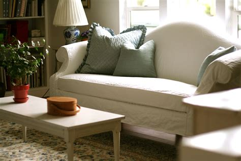 white slipcovers for sofa custom slipcovers by shelley white camel back