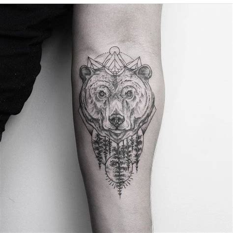 105 best bear tattoos design images on pinterest