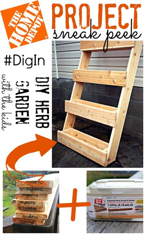 Home Depot Herb Garden by Home Depot Woodworking Projects Plans