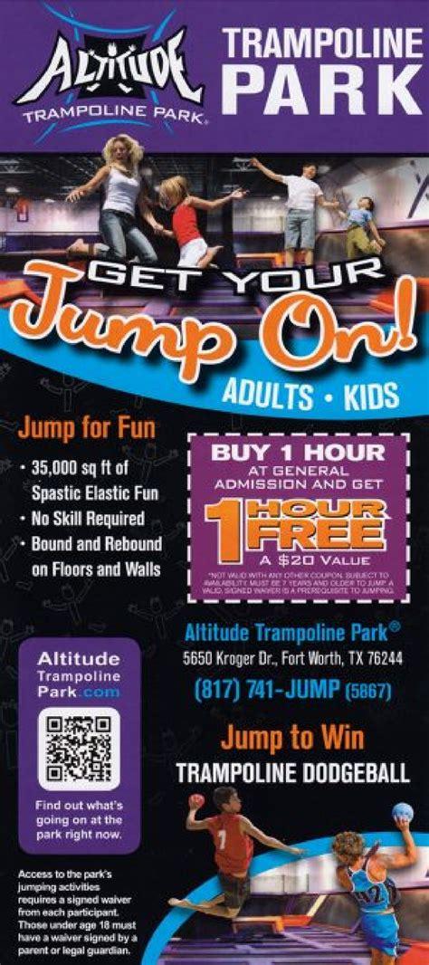 altitude trampoline park fort worth tx ettractionscom