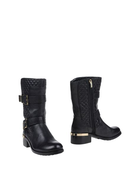 vince camuto ankle boots in black lyst