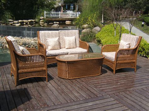Wicker Patio by Wicker Patio Furniture Homeblu
