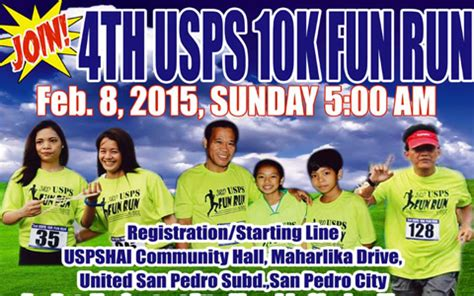 does usps run on 4th usps 10k run 2015 san pedro laguna