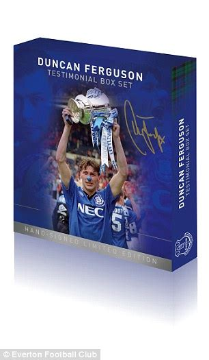 Tas Your Smile Is Charity Limited Edition duncan ferguson everton legend on romelu