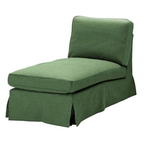 ektorp chaise ikea ektorp chaise longue cover slipcover svanby green