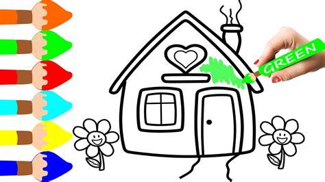 imagenes de otoño animadas para colorear como dibujar una casa para colorear dibujos para ni 241 os