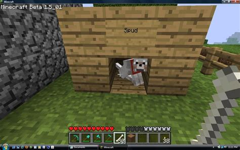 dog house minecraft minecraft dog house by deranged dragon on deviantart