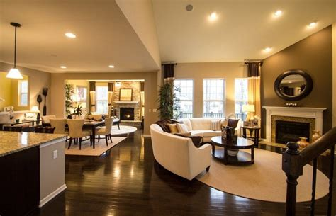 open floor plan furniture layout ideas open floor plan layout all hardwood floors through to