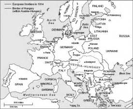 Black And White Map Of Europe by Gallery For Gt Black And White Map Of Europe 1914
