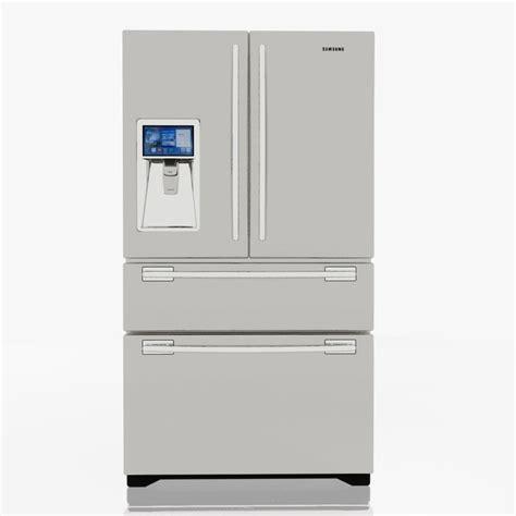 samsung refrigerator 3d 3ds