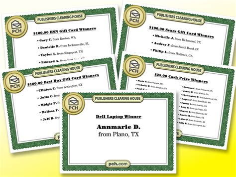 Pch Winners List 2013 - winning is easy with pch all day everyday pch blog