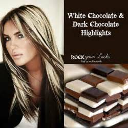 white chocolate hair color rock your locks chocolate grey brown hairs