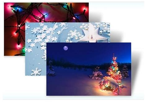 themes for windows 7 christmas noel tema windows 7 temalar tatil işıklar indir