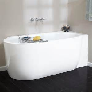 corner bathtubs 59 quot averill acrylic freestanding corner tub bathroom