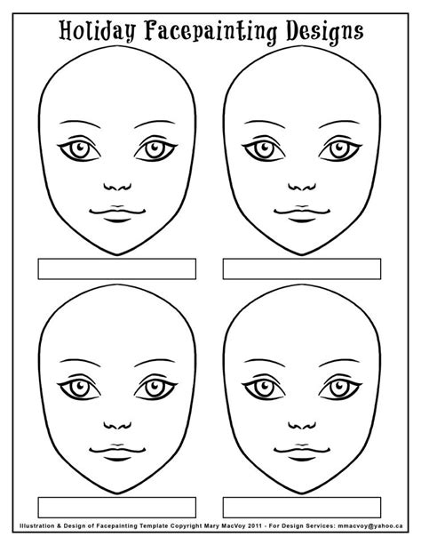 Templates For Face Painting | display board pictures page 2