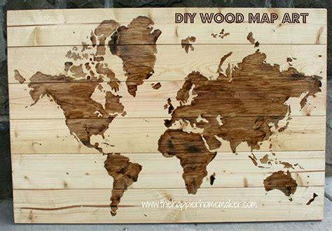 diy world map wall decor make it diy wooden world map wall curbly