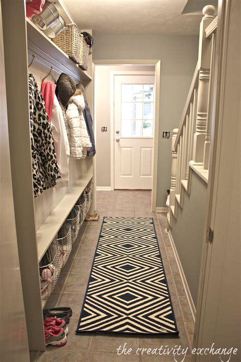 diy hallway decorations narrow hallway built in diy mudroom