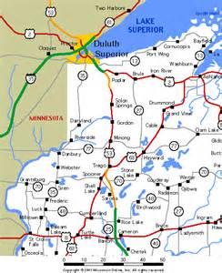 wisconsin maps northwest wisconsin roads and highways
