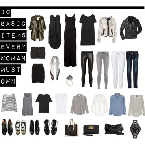 Must Wardrobe Items by Best 25 Basic Wardrobe Essentials Ideas On