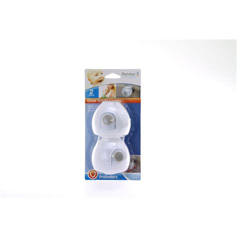 Safety Door Knob Covers by Perma Child Safety Door Knob Covers 2pk Bunnings Warehouse