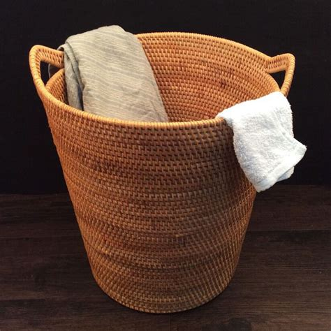 woven laundry wicker woven laundry basket best laundry ideas