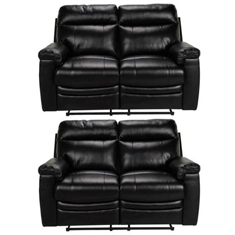 buy recliner sofa online buy collection new paolo pair of 2 seater recliner sofas