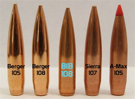 what is a boat tail bullet bib offers new 108gr 6mm boat tail bullet 171 daily bulletin
